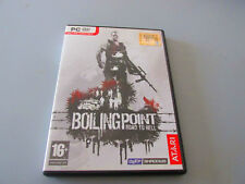 BOILINGPOINT ROAD TO HELL GIOCO USATO OTTIMO PC DVD VERSIONE ITALIANA