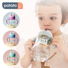 Toddler Baby Kids Drinking Water Straw Bottle Feeding Sippy Cup Mugs 240ml 300ml