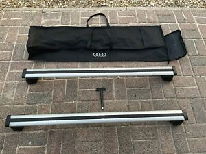 Genuine Audi Q5 Roof Bars With Bag Up To 2017