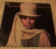 BARBRA STREISAND MY NAME IS BARBRA TWO VINYL LP 1965 ORIG MONO OZ PRESS BP233281