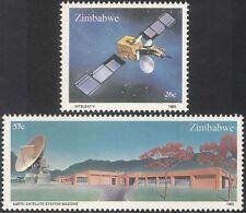 Zimbabue 1985 espacio/Satélite/radio/comunicaciones/telecomunicación 2 V Set (n23056)