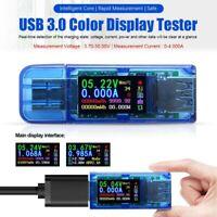 USB Detect Power Bank Color LCD Multimeter Voltage Current Meter Tester Ammeter