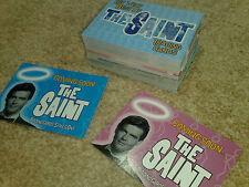 El conjunto de Saint-base y 2 tarjetas de promoción para las tarjetas de promoción!!! Set P1/P2 Roger Moore