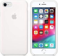 Funda de silicona Apple para iPhone 7 y iPhone 8 Blanca