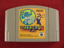 Mario Tennis 64 (Nintendo 64 N64, 2000) Japan Import