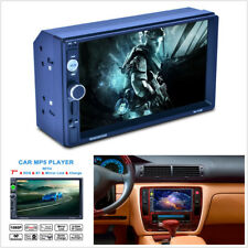 "7"" 2 Din In-dash Bluetooth Touch Screen Car Stereo FM Radio MP3 MP5 Video Player"