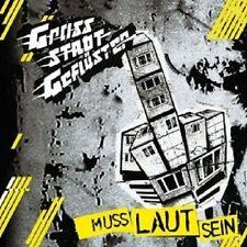 """GROßSTADTGEFLÜSTER """"MUSS LAUT SEIN"""" CD NEU"""