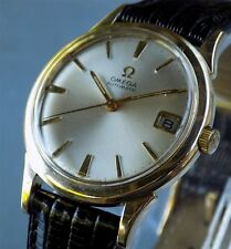 Omega Automatic Ω 563 Gold Plated Date Watch