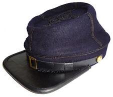 American Civil War US Union Officer Captain Rank Wool Kepi Hat Cap XLarge 60/61