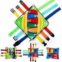 teytoy Sensory Buckle Pillow Toys Activity for Children Learning Fine Motor