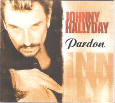 "CD Digipack ""Johnny Hallyday"" Pardon"