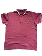 Fred Perry Polo Shirt Size Large Mens