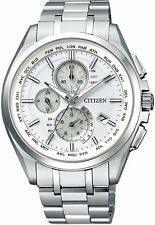 Citizen Attesa Eco-Drive AT8040-57A Radio Clock Direct Flight From Japan New