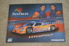 2009 Suntrust Racing Ford Daytona Prototype Grand Am postcard