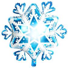 "27"" Christmas Supplies Foil Balloons Snowflake Winter Ballon Ice Snow Kids To nx"