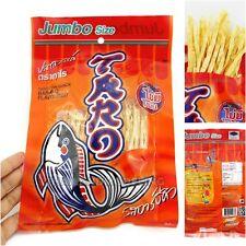 24PCS BIG THAI TARO FISH SNACK FOOD BAR BBQ HOT NO FAT HEALTHY SEAFOOD PARTY NEW