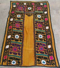 UZBEK SILK HAND EMBROIDERED SUZANI JOYPYSH # 8466