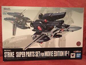 Bandai Macross DX Chogokin Strike Super Parts Set for VF-1S Movie Edition USA