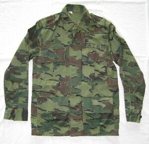 Zaire Jigsaw Pattern Camo Camouflage Uniform