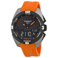 Tissot Titanium Case Adult Round Wristwatches