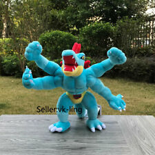 Pokemon Go Plush Toy Feraligatr Fuse Machamp Stuffed Toys Cartoon Soft Doll 11""