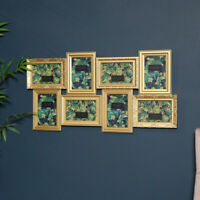 Large gold multi aperture photograph picture frame vintage French photo display