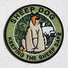 ZOMBIE HUNTER TACTICAL: SHEEP DOG~MULTICAM~PATCH W/VELCRO®~PROTECTING SHEEP!