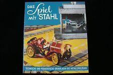 DAS SPIEL MIT STAHL / 127 SEITEN 110 Abb. SCHUCO Blechspielzeug Sammler Fachbuch