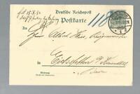 17906 - 1894 GA. DR. 5 Pfg. Pforzheim- Eichstetten