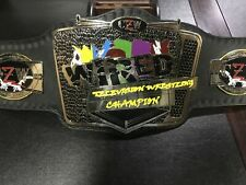 CZW Wired Television Wrestling Championship Belt Copy