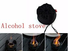 Alocs Alcohol Spirit Burner Stove Furnace for Camping Cooking Outdoor+Free Bag