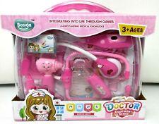 Doctor Set Kids Medical Case Nurse Kit Carry Case Toy Gift For Kids