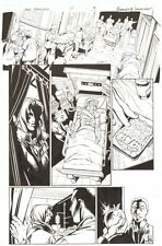Fear Itself: The Fearless #7 p.3 Valkyrie Undercover in Hospital by Mark Bagley