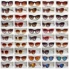 VTG 50s/60s Style womens Cat Eye Sunglasses Retro Rockabilly Glasses Vintage #UK