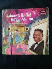 "Nat ""King"" Cole* ‎– Welcome To The Club  LP  vinilo UK"