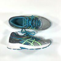 Asics Gel-Contend 3 Running Shoes Womens Size 8 Silver Gray Blue T5F9N