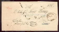 Siede circa 1860 servizio lettera funzionari timbro bulse (b0049
