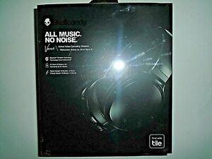 "Skullcandy Venue Active Noise Canceling Wireless Headphones - Black ""NEW"""