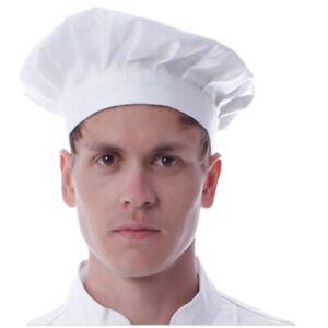 New Professional Chefs Catering Hat Men Cap Cook Food Prep Kitchen Round Cap US