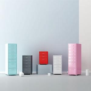 iKayaa Rollcontainer für Winkelschreibtisch Schreibtisch Büro DE K9X0