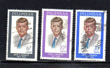 PHILIPPINES #925-927  1965  JFK   F-VF  USED    a