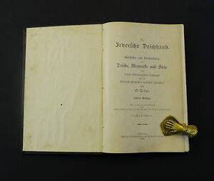 Der  Jeversche  Deichband  O. Tenge  1898  Deiche   Jever  Oldenburg  Friesland