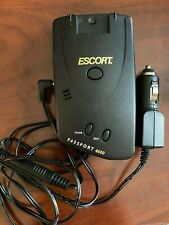 New listing Escort Passport Black Radar Detector