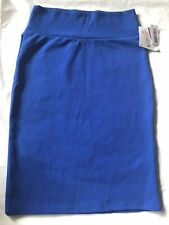 LuLaRoe Cassie Skirt Blue Medium -M- New With Tags Free Shipping