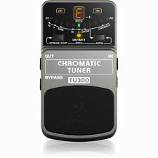 Behringer TU300 Chromatic Pedal Footswitch Guitar Bass Tuner
