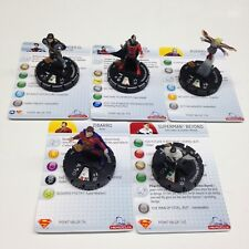 Heroclix Superman set COMPLETE lot of 5 OP Kit LE figures w/cards!