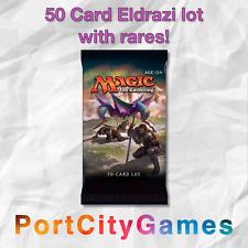 50 Card Eldrazi/Devoid lot Magic MTG w/ Rares + FREE bonuses & Booster Packs!