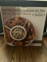 Kitchen Selectives Heated Chip and Dip Tray-Brand New