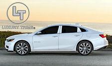 Chevy Malibu Stainless Steel Chrome Pillar Posts by Luxury Trims 2016-2019 (6pc)