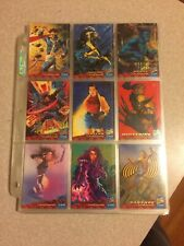 1994 Fleer Ultra X-Men Trading Cards #1-147 Amazing Like Mint Condition